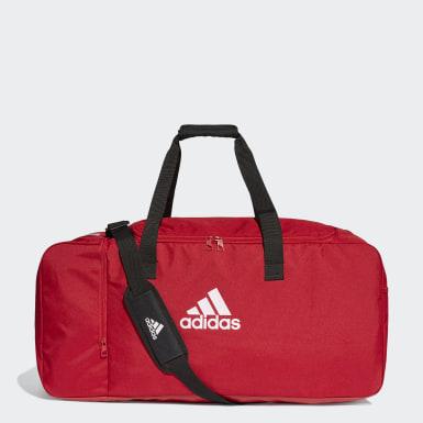 Fotbal červená Taška Tiro Duffel Large