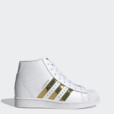Women's Originals White Superstar Up Shoes