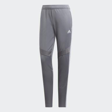 Pantalon d'entraînement Tiro 19 gris Femmes Soccer