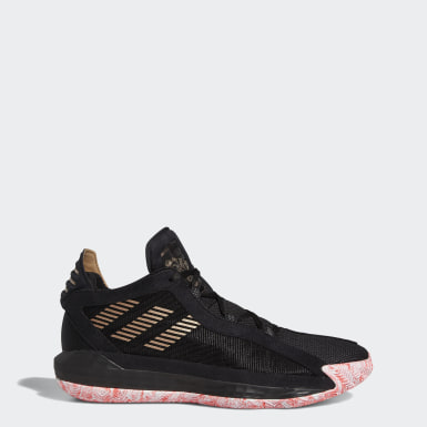Sapatos Dame 6 Preto Basquetebol