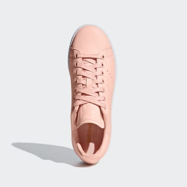 Women Originals Pink Stan Smith New Bold Shoes