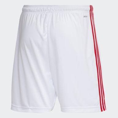 SHORTS INTERNACIONAL 1 Branco Homem Futebol