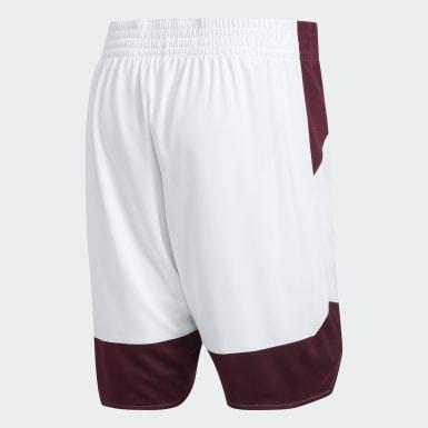 Women's Basketball White Crazy Explosive Shorts