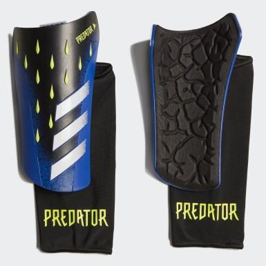 Football Black Predator League Shin Guards