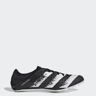 Men's Track & Field Black Sprintstar Spikes