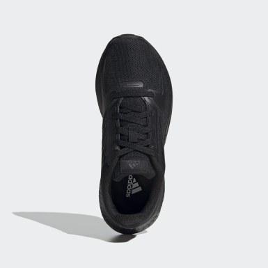 Children Running Black Runfalcon 2.0 Shoes