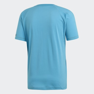 Men Athletics Turquoise adidas Z.N.E. Tee