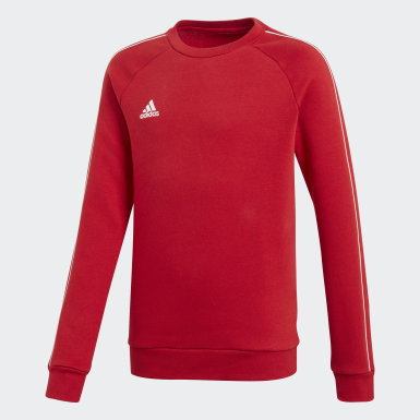Kids Training Red Core 18 Sweatshirt