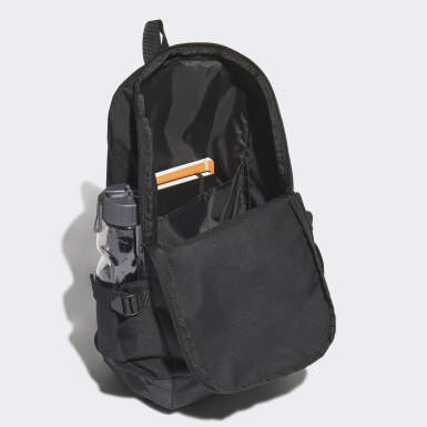 Lifestyle Black Essentials 3-Stripes Response Backpack