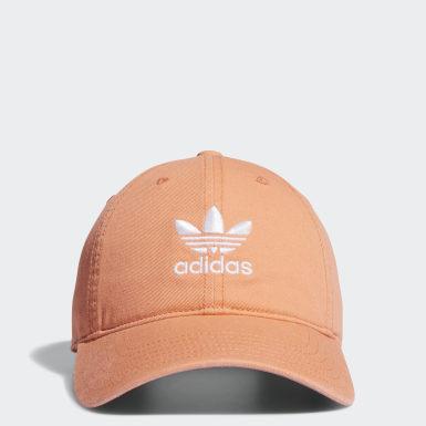 Women's Originals Orange Strap-Back Relaxed Hat