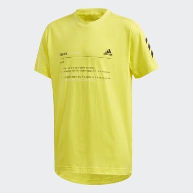 Kluci Athletics žlutá Tričko Must Haves