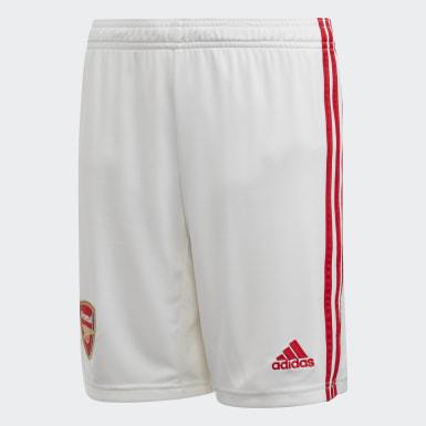 Short Home Arsenal Bianco Ragazzo Calcio