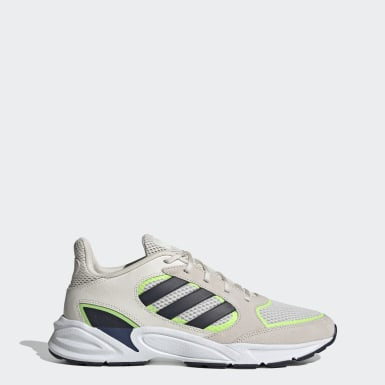 Men Running White 90s Valasion Shoes