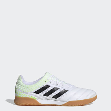 Men's Futsal White Copa 20.3 Sala Indoor Shoes