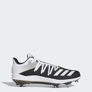 Men's Baseball Black Adizero Afterburner 6 Cleats