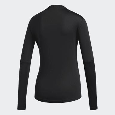 Dames Hardlopen Zwart Own the Run Shirt