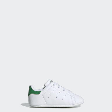 Infants Originals White Stan Smith Crib Shoes