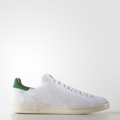 Stan Smith OG Primeknit Shoes Bialy
