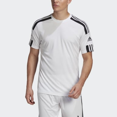 Men Football White Squadra 21 Jersey
