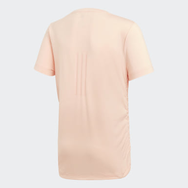 розовый Футболка Novelty