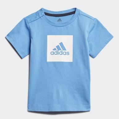 Παιδιά Training Μπλε Logo Summer Set