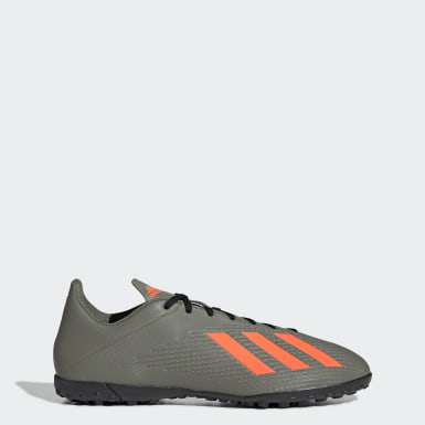Zapatos de Fútbol X 19.4 Césped Artificial Verde Hombre Fútbol