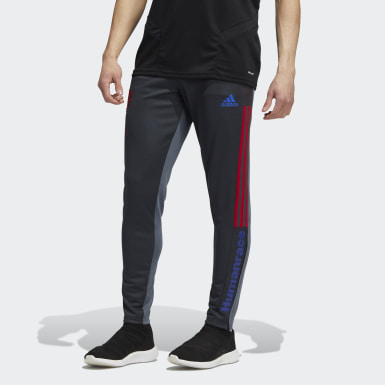 Pantalon d'entraînement Manchester United Human Race Gris Hommes Football