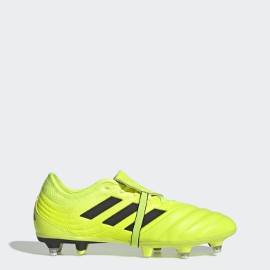 Chaussure Copa Gloro 19.2 Terrain gras Jaune Football