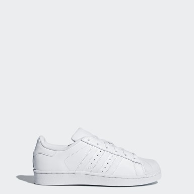 Tenis Superstar Foundation (UNISEX) Blanco Niño Originals