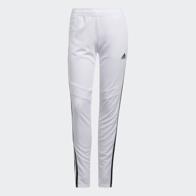 Women Soccer White Tiro 19 Training Pants