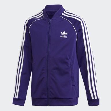 фиолетовый Олимпийка SST