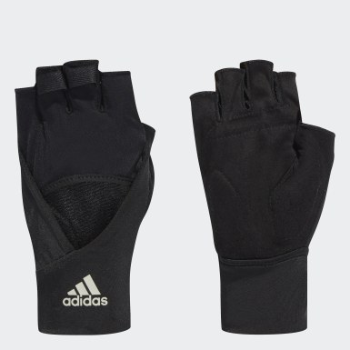 Frauen Training 4ATHLTS Handschuhe Schwarz