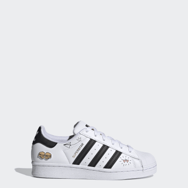 Chaussure Superstar Blanc Enfants Originals