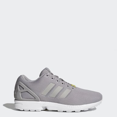 Originals Grey ZX Flux Shoes