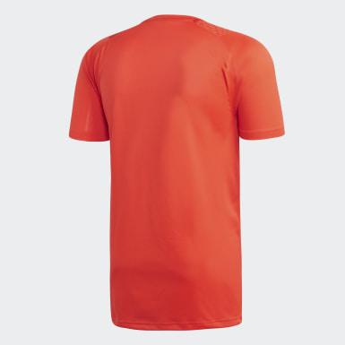 Koszulka treningowa Francuskiej Federacji Piłki Ręcznej Czerwony