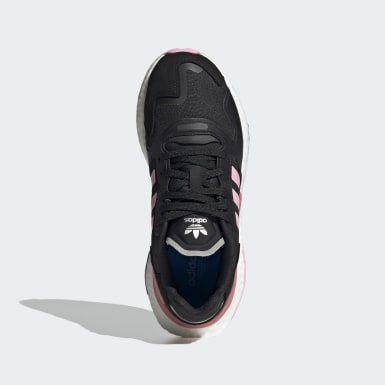 Tenis Day Jogger Negro Mujer Originals