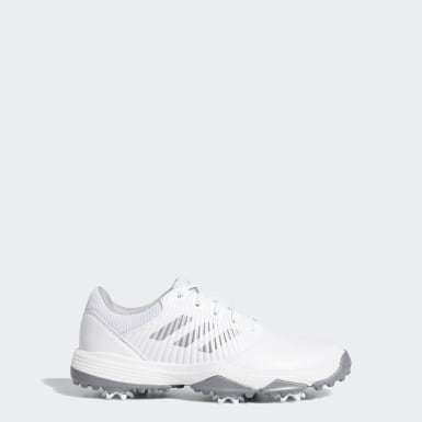 Children Golf White CP Traxion Shoes