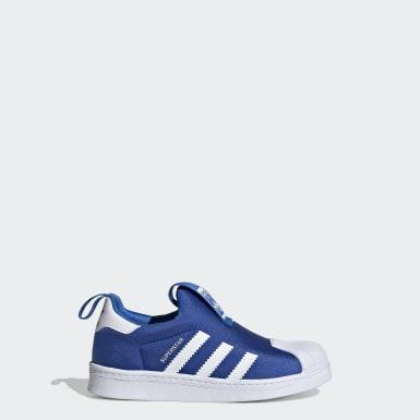 Children Originals Blue Superstar 360 Shoes