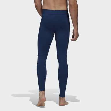 Tight Primeknit Fine Bleu Hommes Training