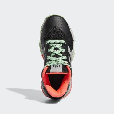 Children Basketball Black Harden Step-Back Shoes
