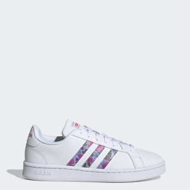Tenis Grand Court Blanco Mujer Sport Inspired