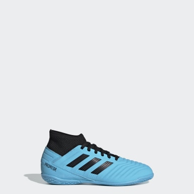 Boys Football Turquoise Predator Tango 19.3 Indoor Boots