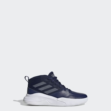 Kids Basketball Blue Own the Game Wide Shoes