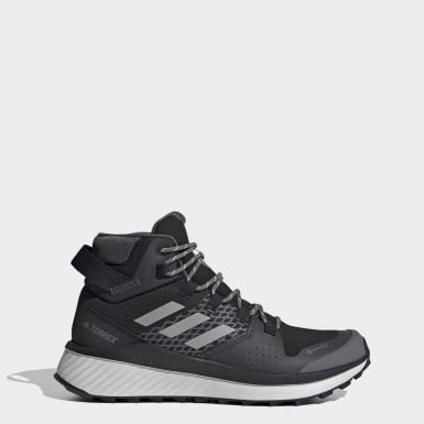 Sapatos de Caminhada Folgian Hiker Mid GORE-TEX TERREX Preto Mulher TERREX