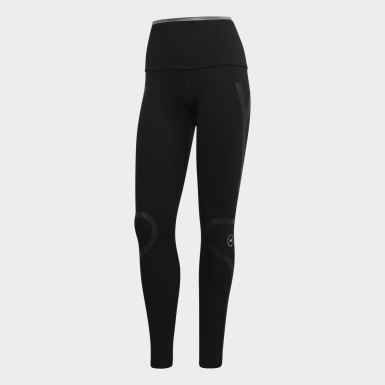 Dam adidas by Stella McCartney Svart TRUEPACE Long Tights