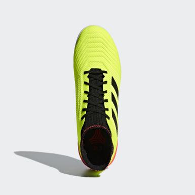 Chuteira Predator Tango 18.3 Society Amarelo Homem Futebol