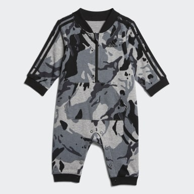 Infant & Toddler Training Grey Classic Camo Print Coverall