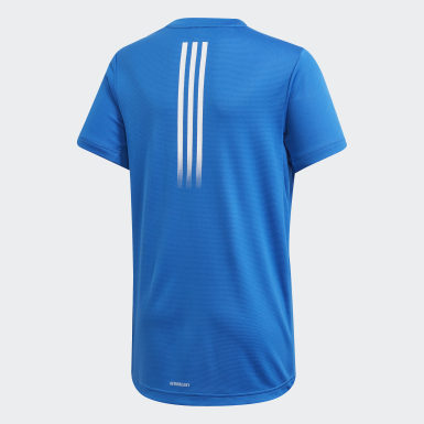 Camiseta AEROREADY Azul Niño Yoga