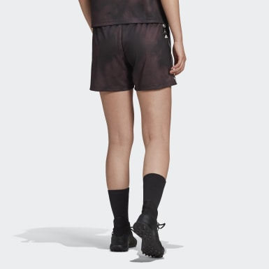 Short Human Race Real Madrid Nero Donna Calcio