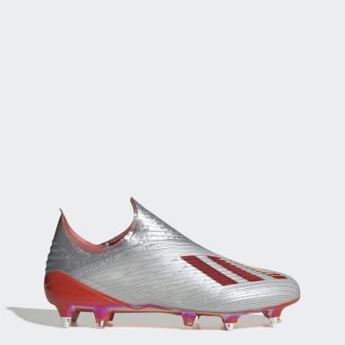 серебряный Футбольные бутсы X 19+ SG